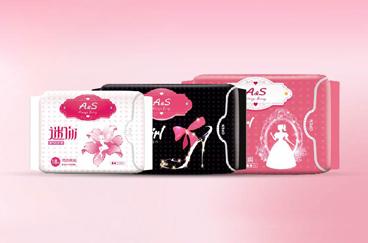 东顺集团-A&S卫生巾包装全案策划/设计