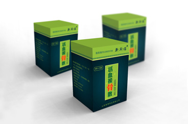 百草药业药品包装设计