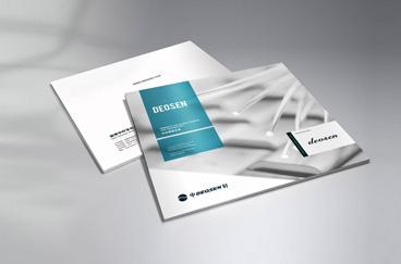 中轩生化企业产品画册设计