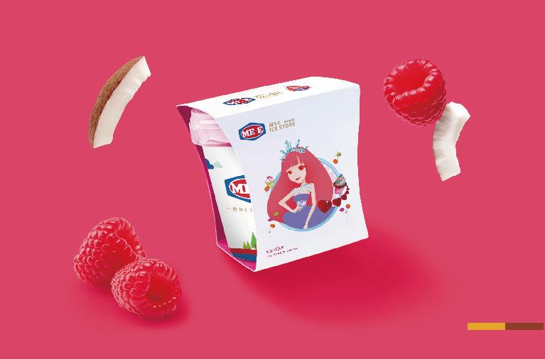 蜜伊冰坊品牌形象全案策划/设计
