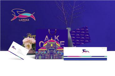拉米莫萨西点品牌形象策划/设计