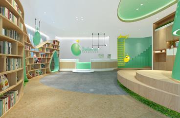 贝乐薇尔托育校区空间设计